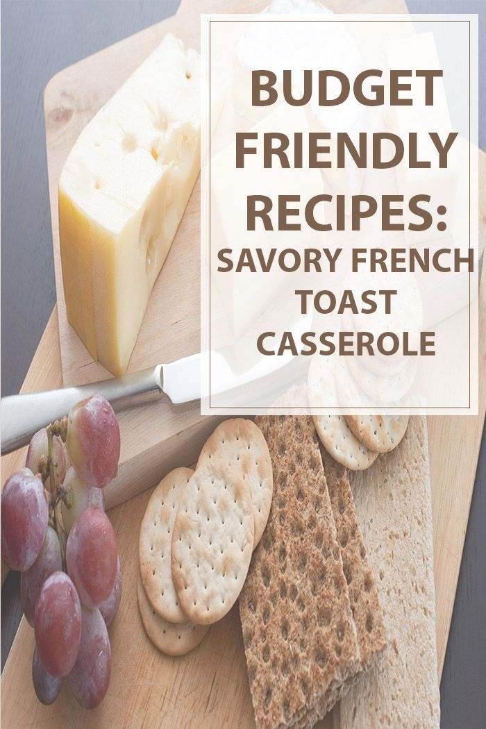 This savory french toast casserole can serve up to eight people with cheap ingredients and quick instructions. Enjoy cooking! :) #cooking #recipe #food #health | www.housewiveshobbies.com |