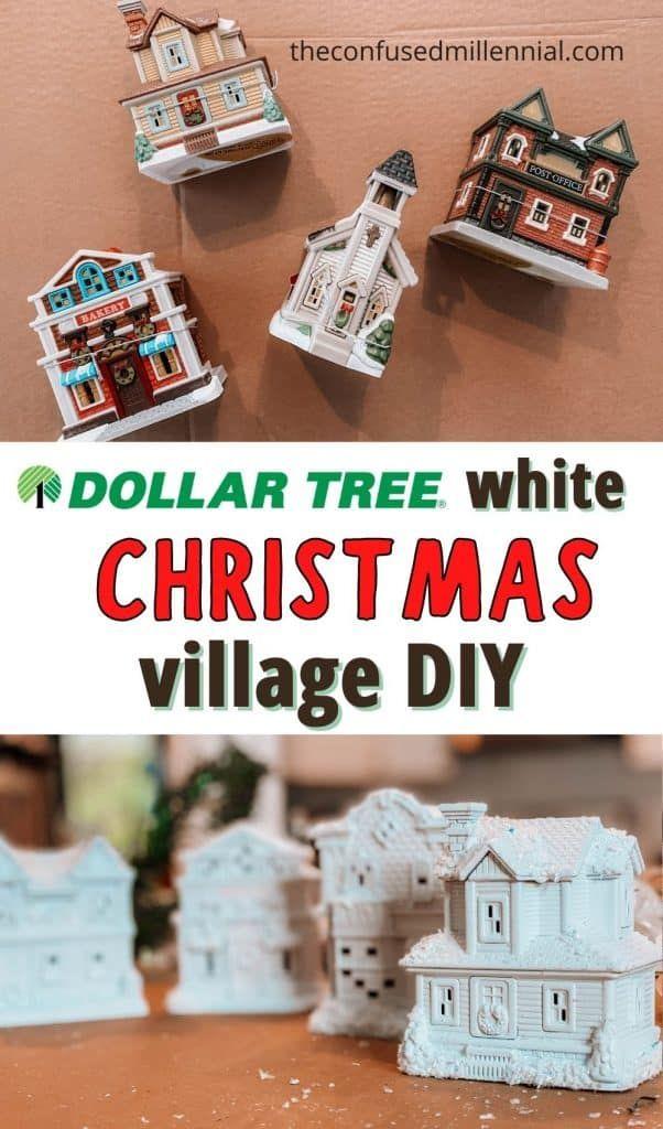 35+ Diy white christmas village trends