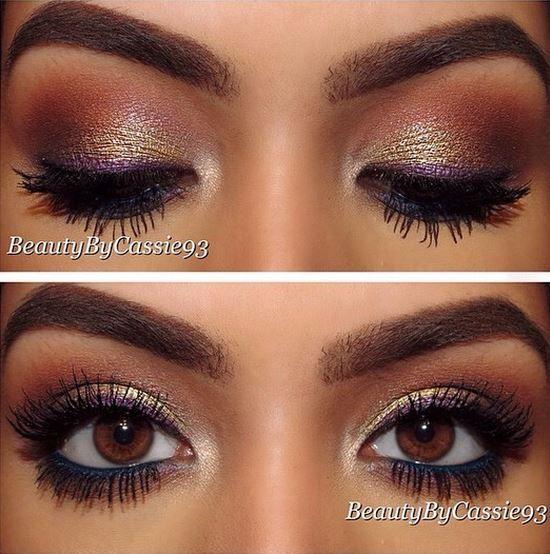 """Mittens"" eyeshadow pigments"
