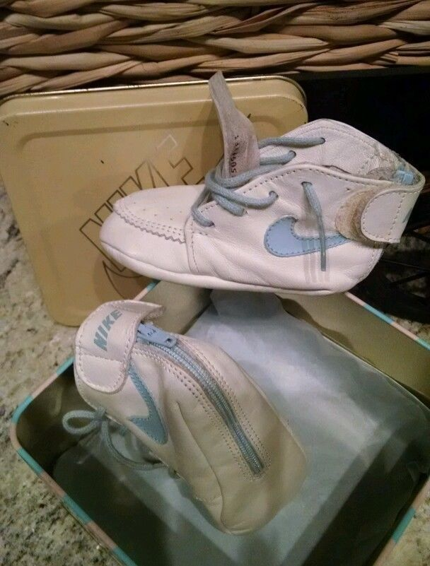 Infant Blue Nike Shoes