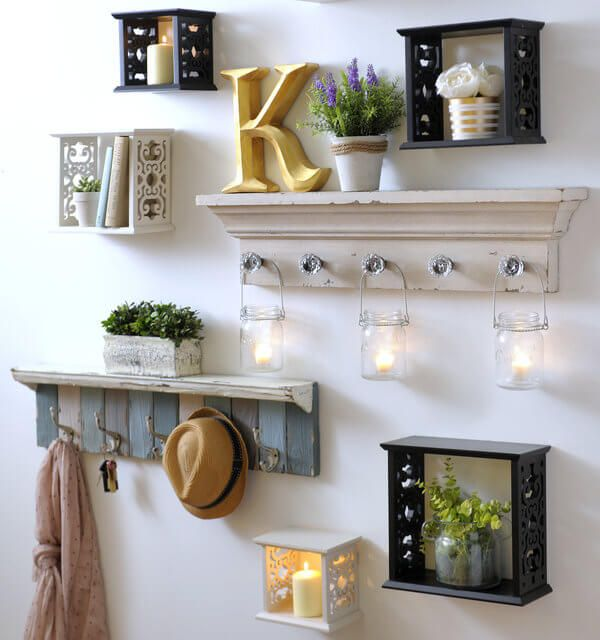 25+ Best Ideas About Shelves Over Couch On Pinterest