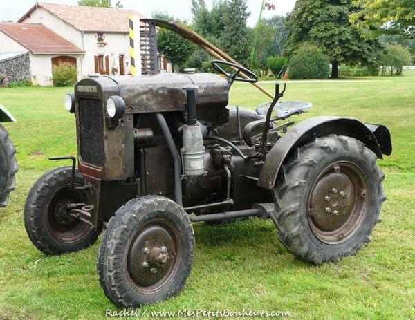 ancien tracteur Deutz