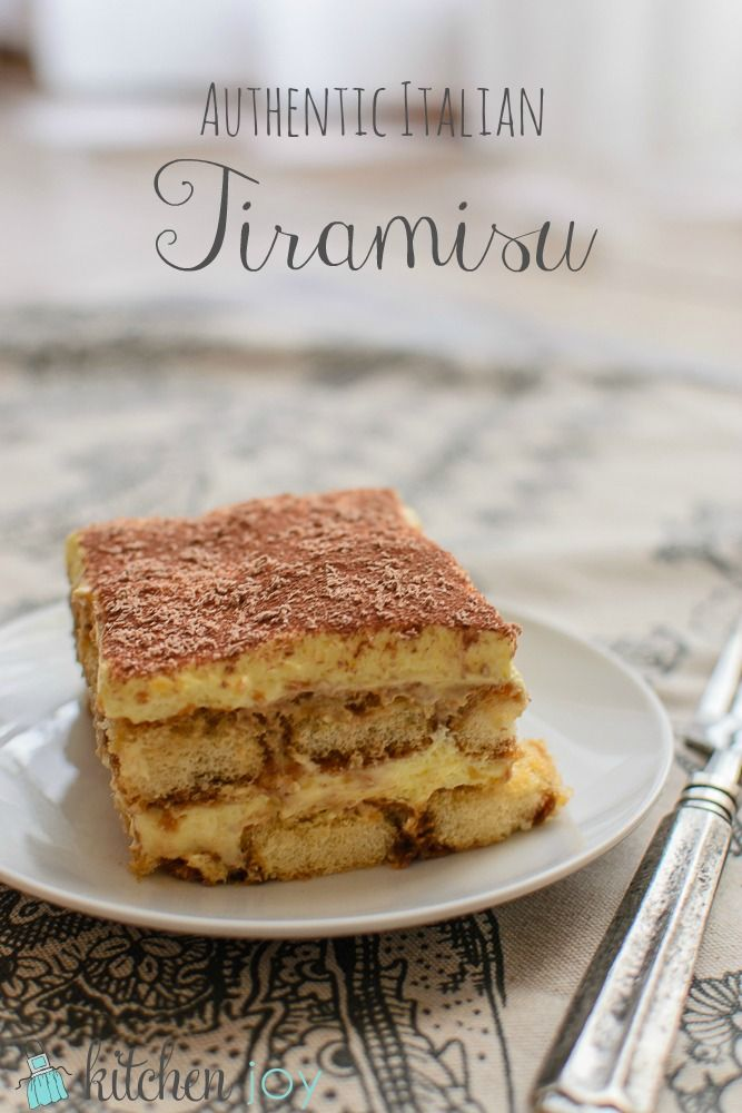 Authentic Italian Tiramisu is easy to make at home. Using the highest quality, most-authentic ingredients possible will ensure that your Tiramisu is the best ever and your guests will be begging for the recipe.