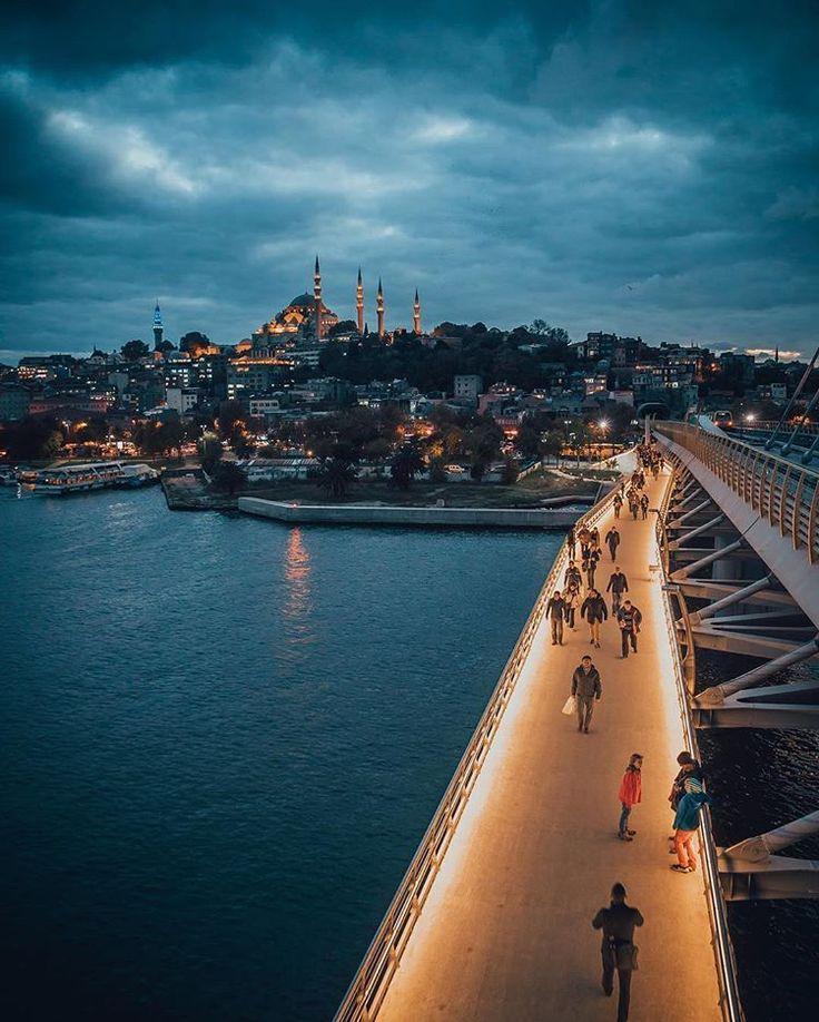 Haliç Metro Köprüsü-İstanbul by ilkinkaracan