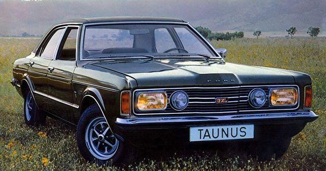 El Clasico Del Dia Ford Taunus Gxl 1974 Elclasicodeldia Motor
