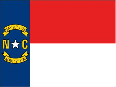 North Carolina State Flag - About the North Carolina Flag, its adoption and history from NETSTATE.COM