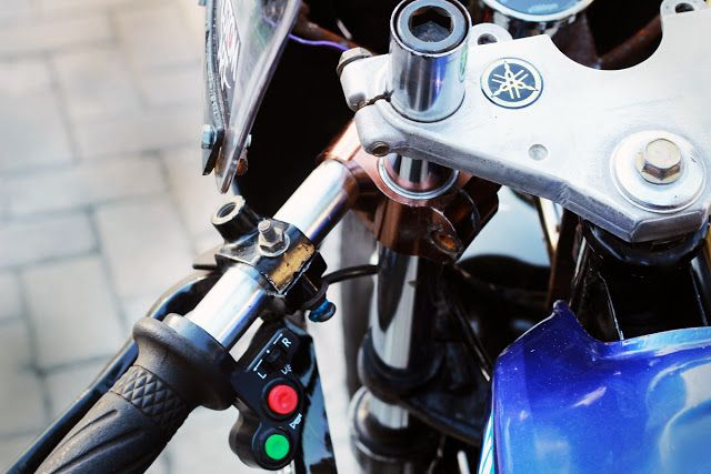Long Live The King - Yamaha RX Cafe Racer ~ Return of the Cafe Racers
