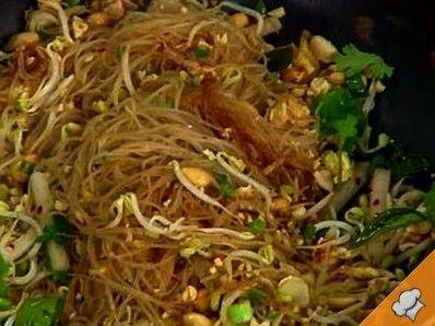 Рисовая лапша по тайски
