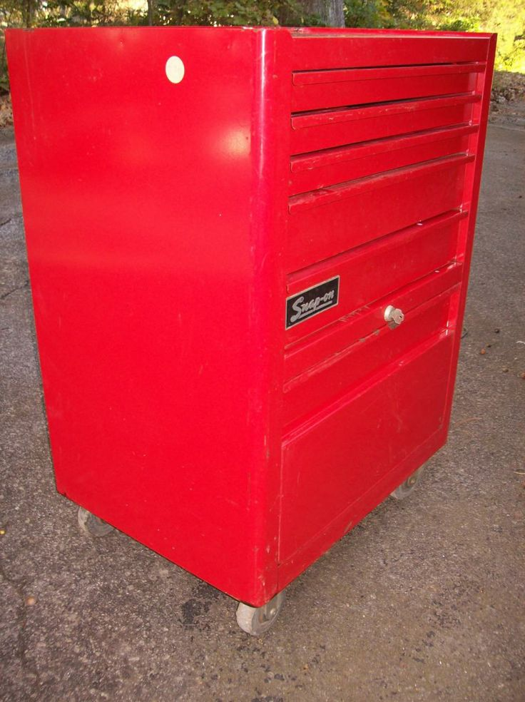 1977 Snap On Tool Cabinet Vintage Amp Unusual Tool Boxes