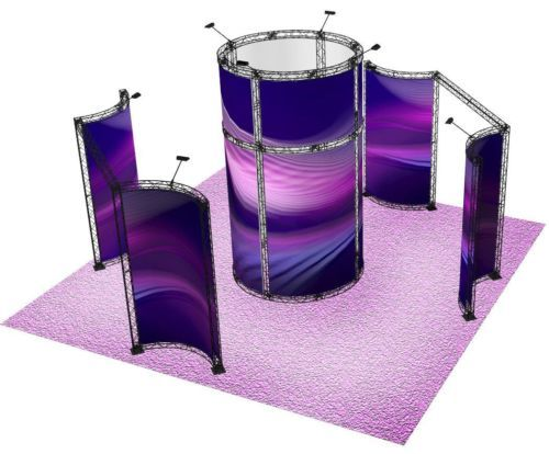 Exhibition Stand Round : Images about tradeshow display ideas on pinterest