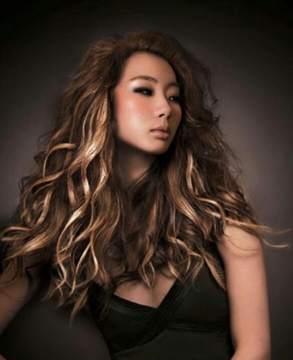 Brown Hair With Blonde Peekaboo Highlights Trendy Hair Highlights