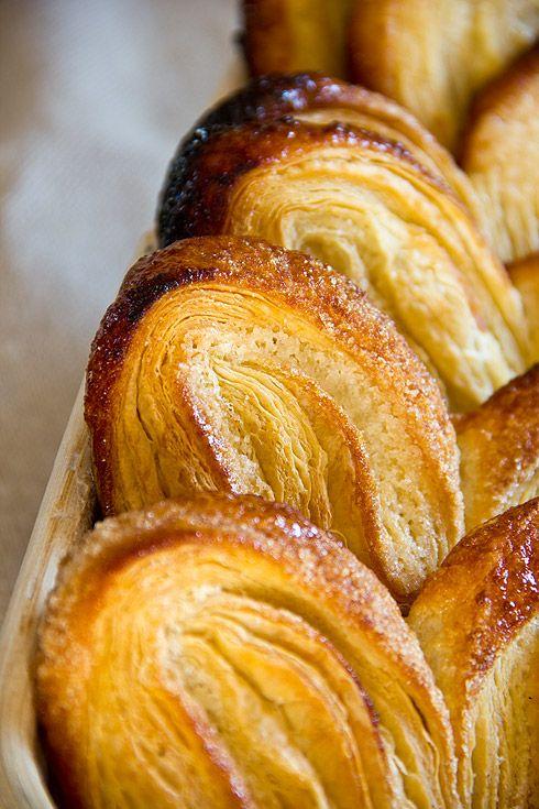 Schweinsohren - palmiers recipe (in German)