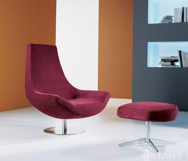 Кресло и подставка для ног