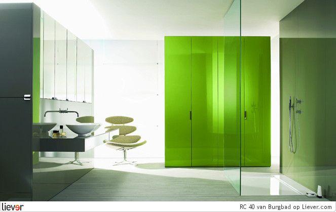 rc 40 design van burgbad de limoengroene tinten bieden. Black Bedroom Furniture Sets. Home Design Ideas