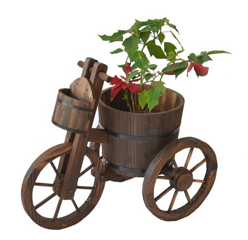 Wheelbarrow Planter, Planter Cart
