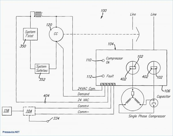 Blower Motor Wiring Diagram Ac Condenser Fan Motor Wiring Diagram In 2020 Air Compressor Pressure Switch Exhaust Fan Industrial Refrigerator Compressor