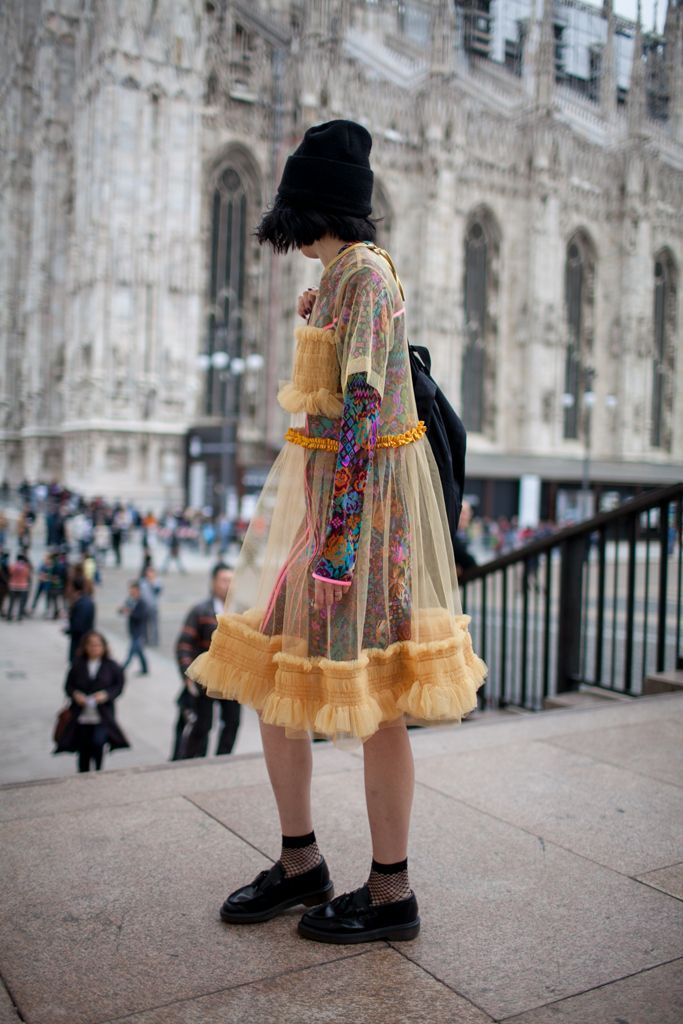 awesome They Are Wearing: Milan Fashion Week Spring 2016 by http://www.redfashiontrends.us/milan-fashion-weeks/they-are-wearing-milan-fashion-week-spring-2016/