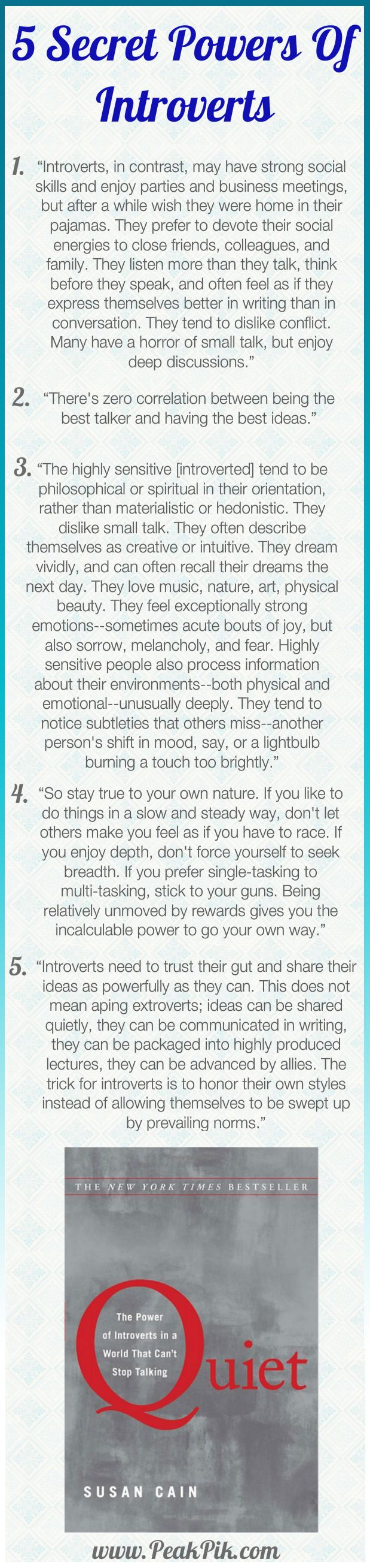 Daily Tips And Motivation | Quiet: The Power of Introverts in a World That Can't Stop Talking –  by Susan Cain