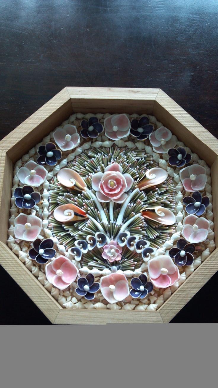 3-dimensional tone - Sailor's Valentine. $350.00, via Etsy.