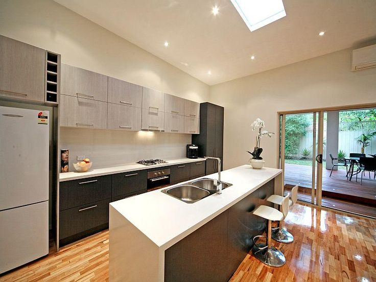 Contemporary brilliance residence house modern kitchen for Butlers kitchen designs