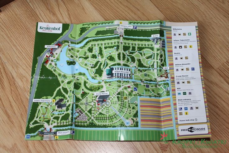 Keukenhof map