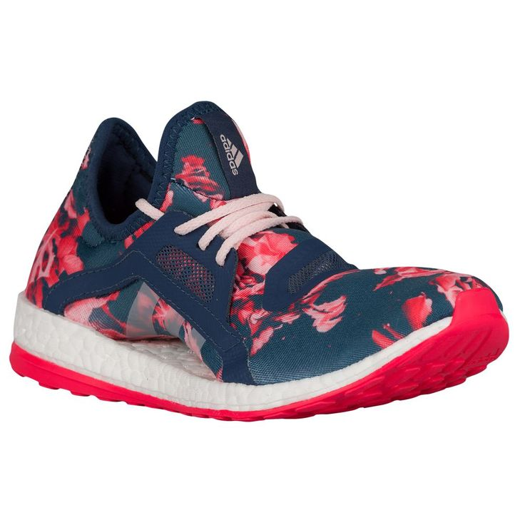 Adidas Pure Boost X Floral Blue Pink pas cher (8) | ? Fitness Wear ? |  Pinterest | Adidas pure boost, Adidas pure and Pure boost