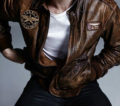 kit harrington, leather jacket, and army jacket image