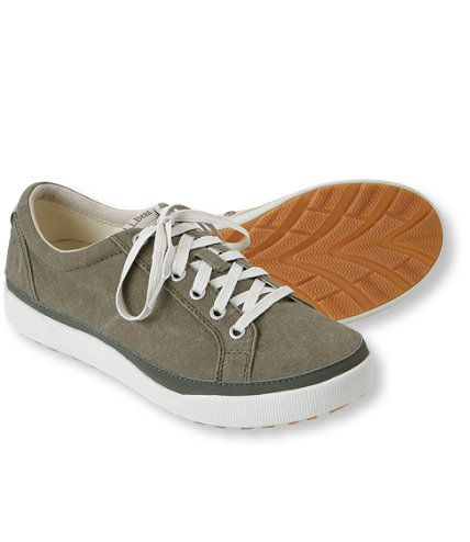 LL Bean Canvas Deck Shoes
