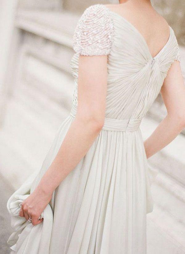 #bodas, #vestidoNovia, #vestidoNoviaMangaCorta, #ElRinconDeModa #erdm