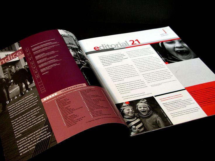Diseño revista prohumana