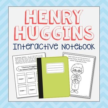 Henry Huggins by Beverly Cleary Interactive Notebook Novel Unit Study. Low Prep and Stress-Free. If you're looking for higher level hands-on activities that don't include boring multiple choice tests, then this is it!