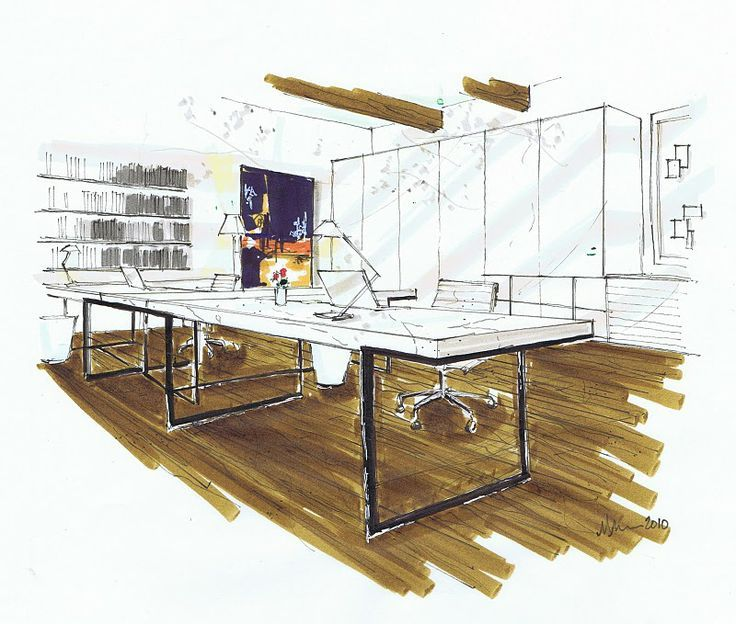 42 best images about examples of perspective sketches on for Architectural design with sketchup