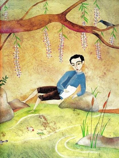 """María Sánchez (Cuba), ilustración para """"José"""", de Georgina Lázaro, Lectorum Publications."""