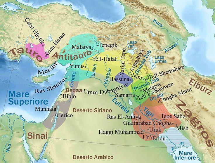 Cultures Céramiques du Proche-Orient dans le milieu Halaf - 5200-4500 av. J.C.