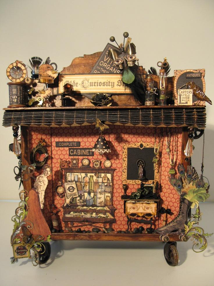 Shadow - cabinet box for the Olde Curiosity Shoppe photo album