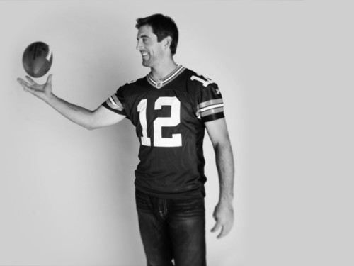 Aaron Rodgers #12 Greenbay Packers QB. He's not in actor but he's still one of my favs!