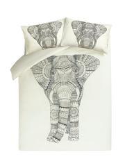 George Home Mandala Elephant Duvet Set