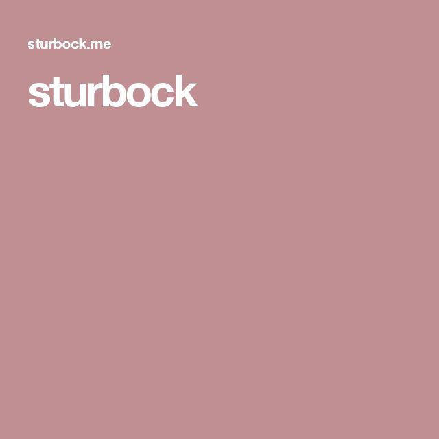 sturbock