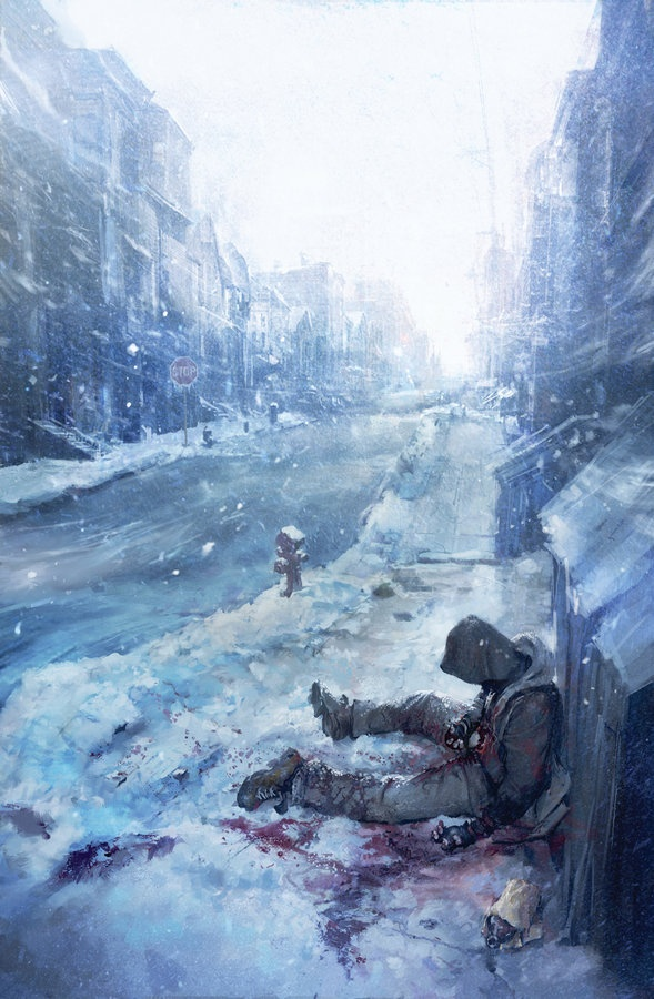 Bright in the blue ice and air. (Cold Heart cover#1 by taeyoungcho)