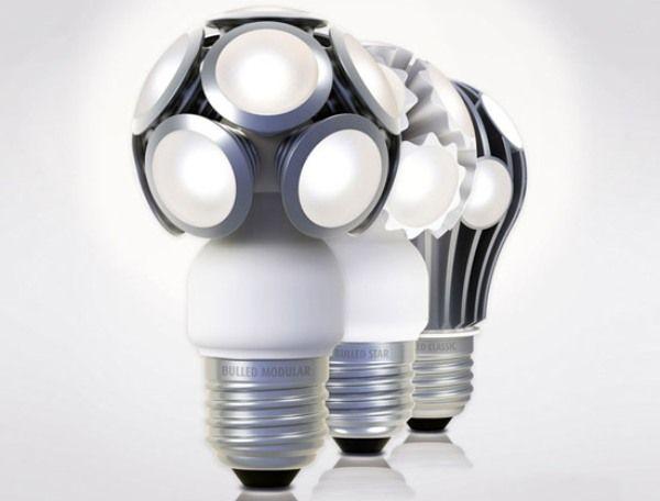 German Company Ledo LED Technologie GmbH Has Created U0027bulledu0027, A Series Of  Three Retrofitted LED Light Bulbs Which Match The Size, Shape And  Brightness Of ...