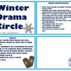 """$  This drama activity with a Winter / snow day theme has a similar format to the """"I Have / Who Has"""" game. This is a fun activity that can be used for drama activities, morning meetings, cooperative learning activities, listening skills, etc. There are 40 cards, that follow in a sequence, with each card having a different instruction to say or act out."""