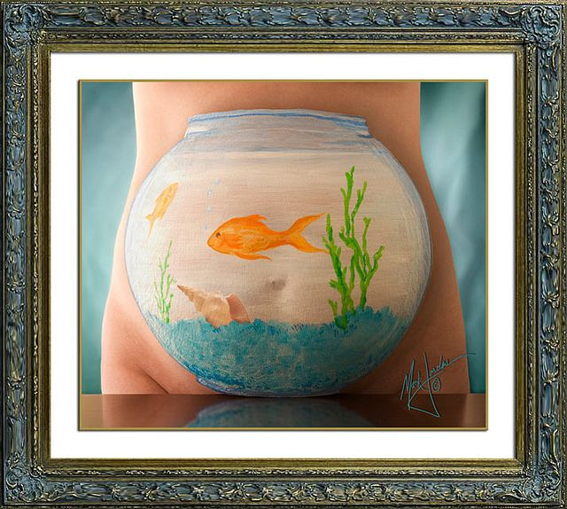 BELLY ART Photos   Fishbowl Belly   Orange County Photographer, Mark Jordan © All Rights Reserved by Mark Jordan Photography   Orange County Photograph, via Flickr