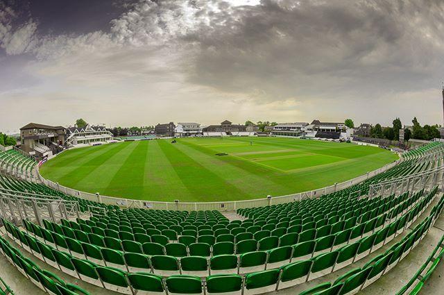 FYI: Somerset Cricket Ground. Fisheye image of Somerset Cricket Ground, also the home of England Women's team.… #somersetcricket #cricket