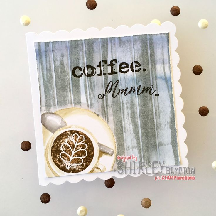 Card by Shirley featuring AND COFFEE by The Bee's Knees