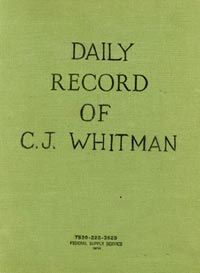 Charles Whitman's diary, February - March 1964 -- Charles Whitman went to the top of the clock tower at the University of Texas and shot and killed several people after already murdering his wife and mother.