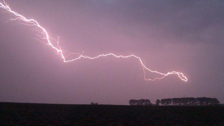 Thunderstorm and beautiful lightning...