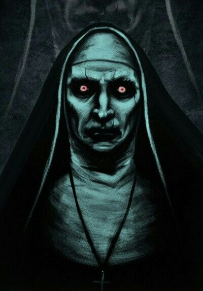 Valek From The Conjuring  Horror Drawing, Horror Artwork -1125