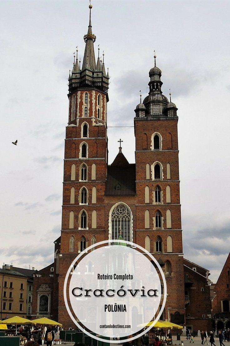 Um roteiro completo por Cracóvia, com dicas de hospedagem, restaurantes,comidas típicas e o que fazer na cidade.