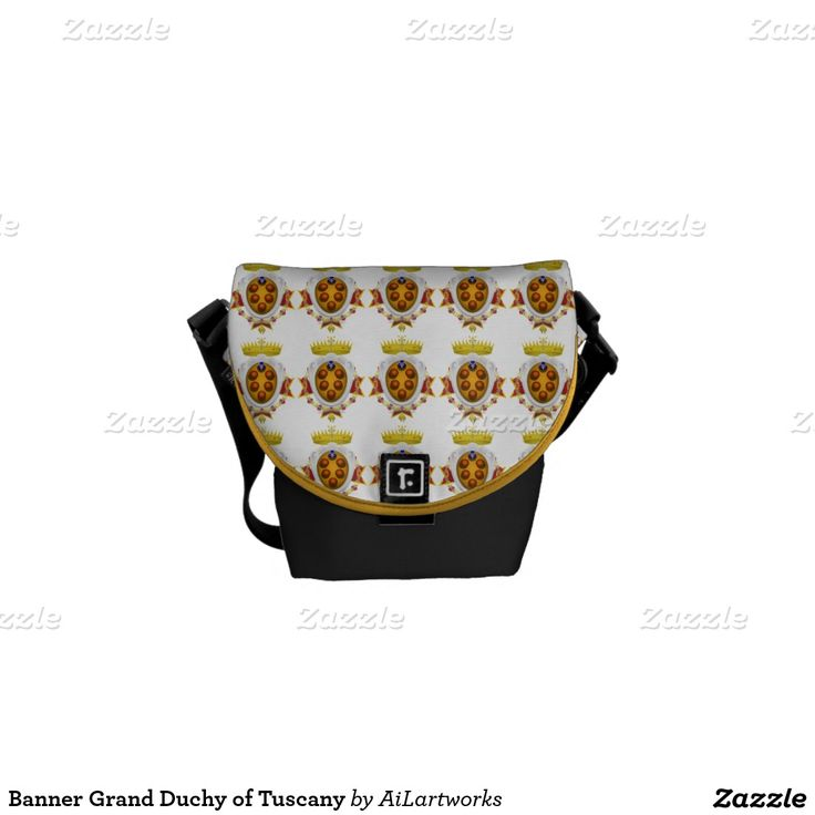 Banner Grand Duchy of Tuscany Courier Bag
