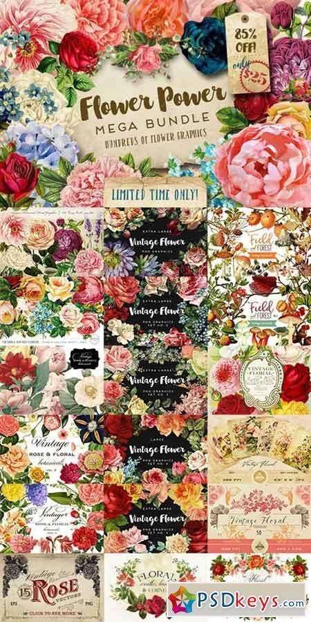 Flower Power Mega Bundle 705846